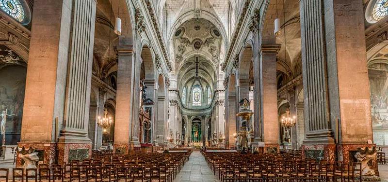 St Louis Taxi >> Iglesia de Saint Sulpice en París